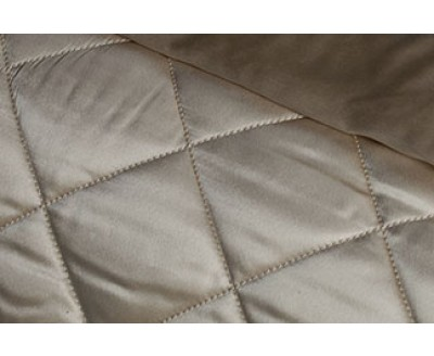 Silk Quilted Coverlet